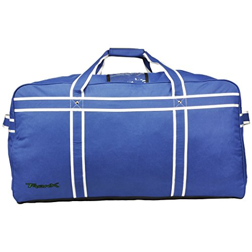 TronX Travel Hockey Equipment Bag (Goalie - Navy) by TronX