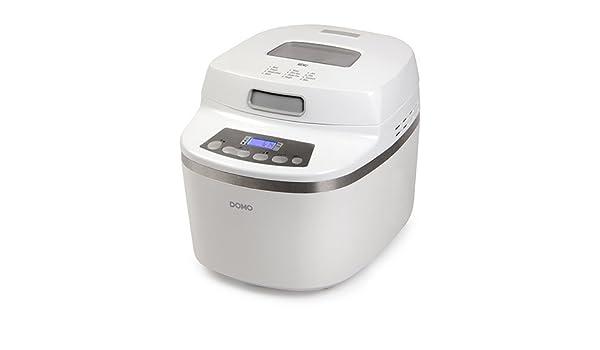 Domo B3959 Color blanco - Panificadora (Color blanco, 1 kg, Masa ...
