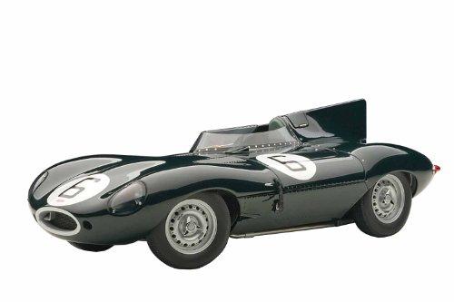 1/18 ジャガー Dタイプ ルマン24時間 優勝車 1955年#6 マイク・ホーソーン/アイバー・ビューブ 「シグネチャーシリーズ」 85586