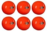 New Gray Nicolls Outdoor Team Sports Official Orange Kwik Cricket Balls Set Of 6 by Gray-Nicolls