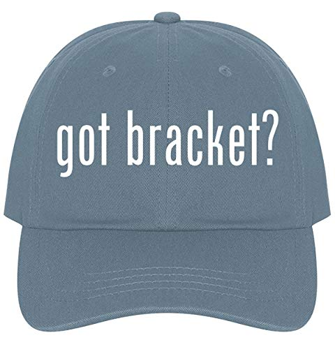 The Town Butler got Bracket? - A Nice Comfortable Adjustable Dad Hat Cap, Light Blue