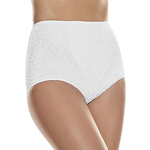 Hanes by Shaper Brief 2-Pack, White, ()