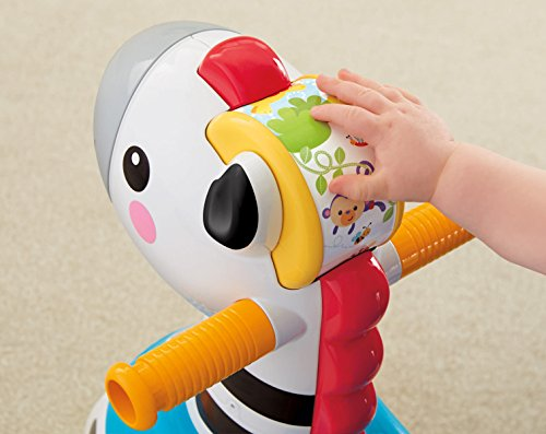 Easy Toddler Games >> Fisher-Price Rollin' Tunes Zebra Baby Toy - Buy Online in UAE.   Toy Products in the UAE - See ...