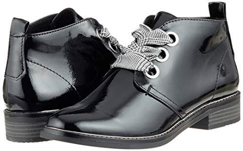 Botines Negro 018 25130 black Para Marco 31 Mujer Patent Tozzi OHYzZwFt