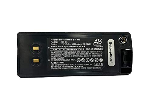 New BatteryPrice Model BC-65 NiMH Battery for Nikon Total Stations by BatteryPrice