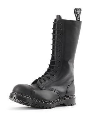 Gripfast 14 Eyelet Black Steel Toe Boot UK 5/US 6