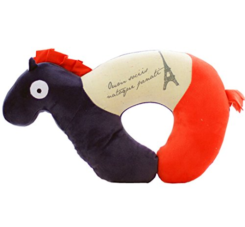 Creative Horse U-shaped Neck Pillow Travel Nursing Neck P...