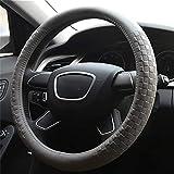KYCD Multi-Function car Steering Wheel Cover Car Steering Wheel Cover Leather for Most Cars by NaXinF