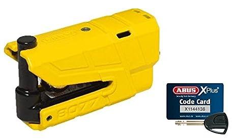 rojo Abus 70440-8077Antirrobo para freno de disco con alarma