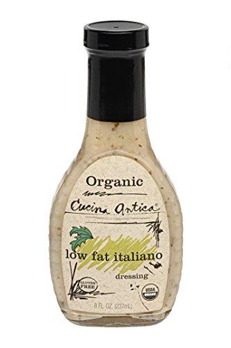Cucina Antica Organic Low Fat Italiano Dressing, 8 oz - Organic Dressing