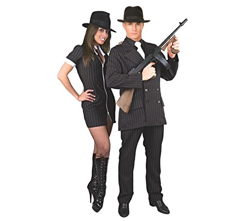 Gangster Adult Costume - Plus Size -