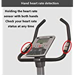 HLEZ-Bici-da-Spinning-Professionale-Spin-Bike-con-Monitor-LCD-Bici-da-Fitness-per-Uso-Indoor-Fitness-Ciclismo-con-Trasmissione-a-Cinghia-Fino-a-120-kg-And-29cm-Cushion