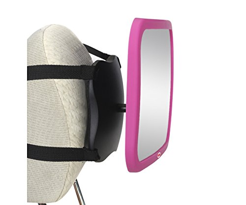 Nuby Back Seat Baby View Mirror, Pink by Nuby (Image #4)