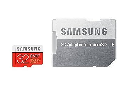 Samsung de memoria 32 GB EVO PLUS microSDHC UHS-I grado 1 ...