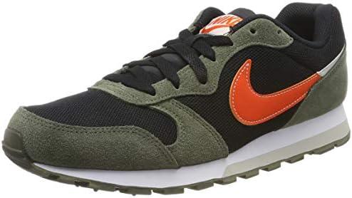 Cinemática Inevitable En la actualidad  Nike Md Runner 2 Es1, Men's Shoes, (Black/Orng/Cargo Kaki/Light Bone 003),  7 UK (41 EU): Buy Online at Best Price in UAE - Amazon.ae