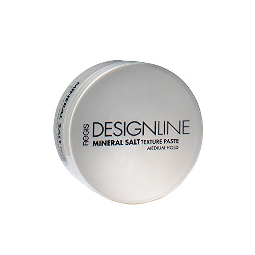 Mineral Salt Texture Paste, 2 oz - Regis DESIGNLINE - Ultimate Multi-Tasking Styling Paste with Semi-Matte Finish for Damp, Dry, Long, or Short Hair (2 oz) by DESIGNLINE