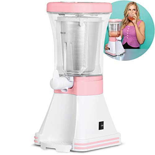Wanderlust X Frose Frozen Rose Drink Maker, Slushy Machine for Icy Margaritas and Cocktails, Mix Nonalcoholic Sweet Frozen Treats, Perfect for Outdoor Parties, Housewarming or Wedding Gift, 32 fl oz