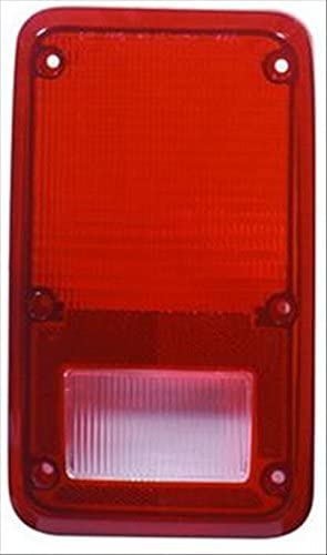 Partslink Number CH2808102 OE Replacement Dodge//Plymouth Van Driver Side Taillight Lens