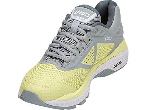 ASICS Women's GT-2000 6 Running Shoe, Limelight/White/Mid Grey, 5 M US by ASICS (Image #6)