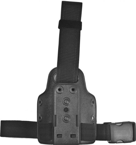 Small Tactical Plate with One Elastic Strap with Harness (Black STX Tactical Finish), Outdoor Stuffs