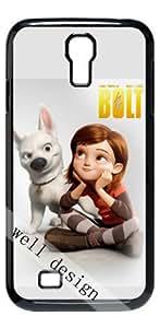 Bolt Animated Oscar Cartoon movie HD image case for Samsung Galaxy S4 I9500 black + Gift