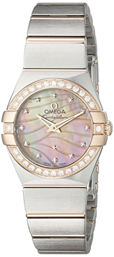 Omega Women's 12325246057002 Constellation Silver-Tone St...