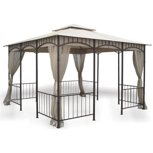 Garden Winds Replacement Canopy for Savannah Gazebo - Riplock (Wal Mart Com Patio)