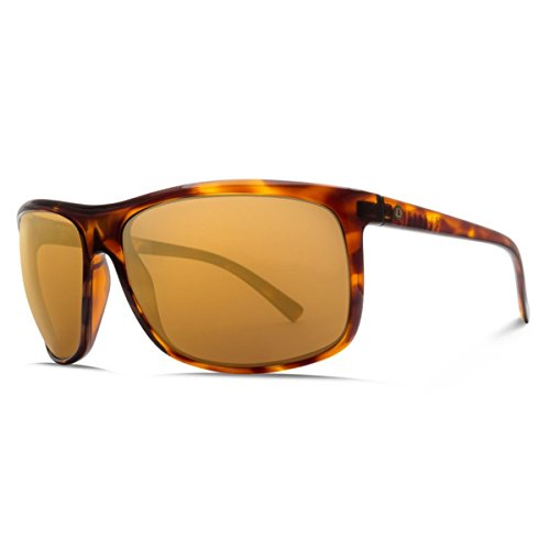 Electric Visual Outline Gloss Tortoise Polarized Sunglasses by Electric