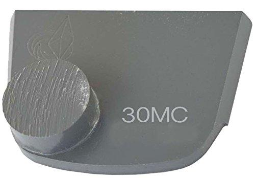 Lavina X1B-MC-0030 Diamond Medium Metal Bond for Medium Concrete 30 Grit Single Button Segment by Lavina (Image #1)