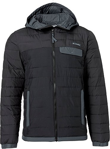Price comparison product image Columbia Men's Mountainside Full Zip Insulated Jacket (Black/Shark, M)