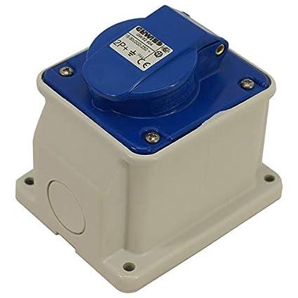 Ronbar 16 AMP 3 PIN PLUG /& COUPLER TRAILING SOCKET WATERPROOF IP44  200-250V