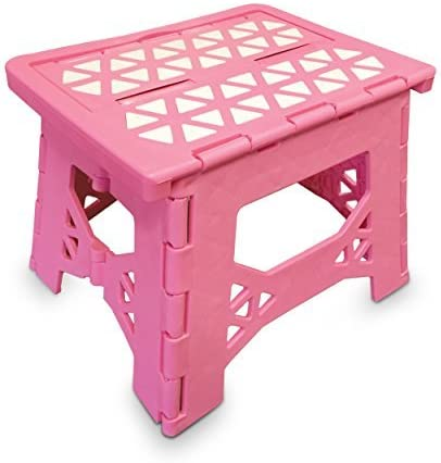 Bula Baby Folding Step Stool For Kids - New Safe Locking System and Non Slip Feet  sc 1 st  Amazon.com : kids stepping stool - islam-shia.org