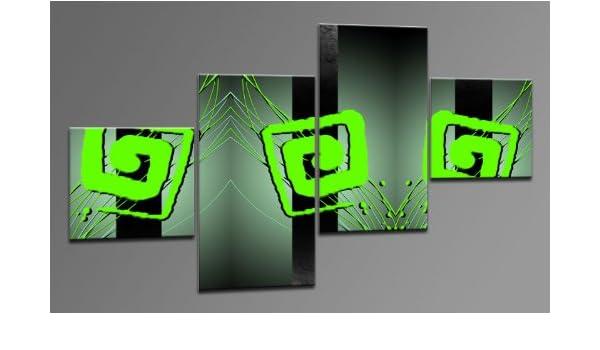 Arte Moderno como Lienzo 4 imágenes Número de Referencia m42105 ...