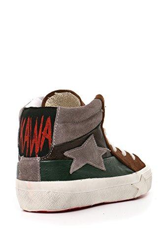 Ishikawa Hi Top Sneakers Donna MCBI156006O Camoscio Marrone