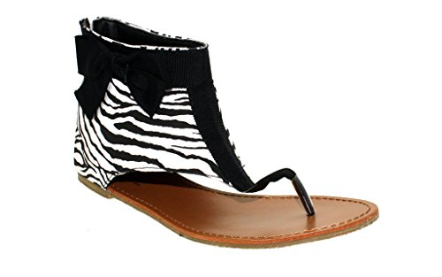 Happy Feet Snooki's Zebra Print Hooded Thong (Hooded Thongs)