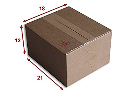 50 boîtes emballages cartons  n° 05-180x160x150 mm simple cannelure