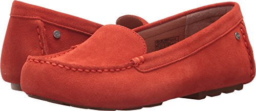 UGG Women's Milana Loafer Flat, Red/Orange, 8 M US
