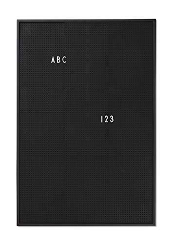 AJ Message Board A2, nero, di Design Letters