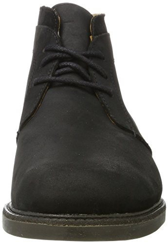 Chukka Turner Wp Wp Botas black Hombre Negro Sebago Leather d5q6w1d
