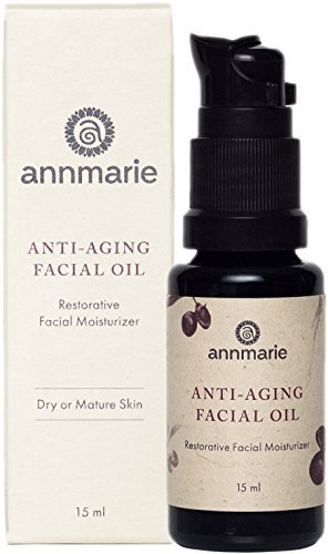 Annmarie Skin Care Anti-Aging Facial Oil - Moisturizing Face Oil For Dry or Mature Skin with Jojoba Oil, Goji Berries + Chia Seed Oil (15 Milliliters, 0.5 Fluid Ounces)