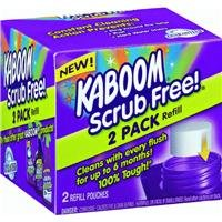 Kaboom with OxiClean Scrub Free! Refill, 2 ct ()