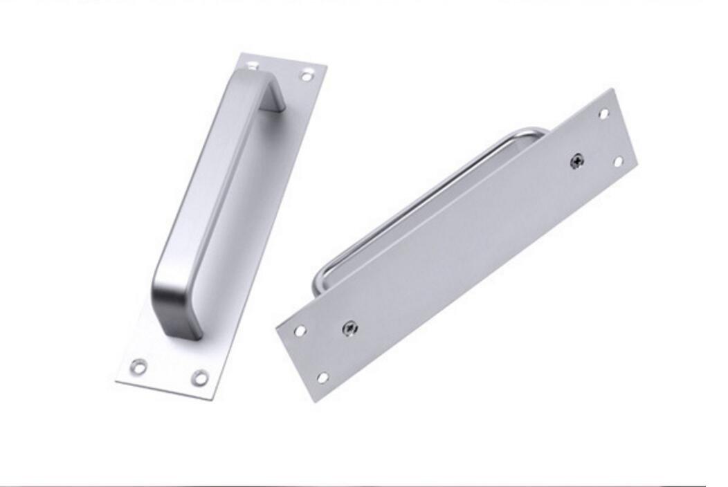 Iable 2PCS lega di alluminio maniglia per porta scorrevole Fire Pull porta del bagno maniglia 17,8/cm