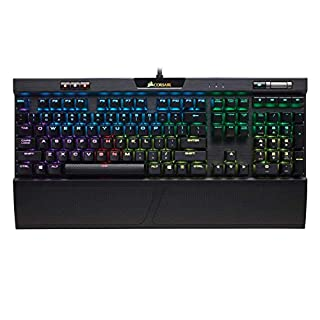 Corsair K70 RGB MK.2 Mechanical Gaming Keyboard - USB Passthrough & Media Controls - Linear & Quiet - Cherry MX Red - RGB LED Backlit (B07D5S54C6) | Amazon price tracker / tracking, Amazon price history charts, Amazon price watches, Amazon price drop alerts