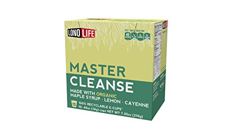 LonoLife Master Cleanse (Lemonade Diet), Single Serve Cups, 15 Count Master Cleanse Kit
