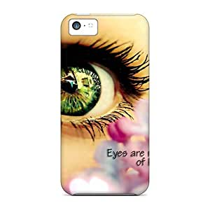 Durable Case For The Iphone 5c- Eco-friendly Retail Packaging(eyes Are Mirror)