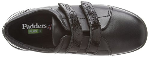 Donna Mary Black Nero Plus Padders Revive Black Jane 639N 10 Basse HYHZnqW