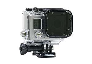 Glass Polarizer Filter-Slim Frame-For the GoPro Hero3 Waterproof Housing