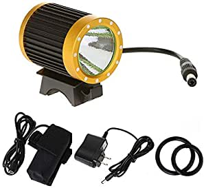 CREE XML-T6 LED Bike Light Accessories Rechargeable Bicycle Front Lamp Set 6000mah GH9250G