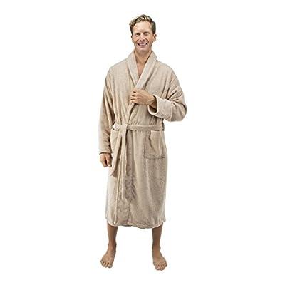 Comfy Robes Personalized Men's 16 oz. Turkish Terry Cotton Bathrobe