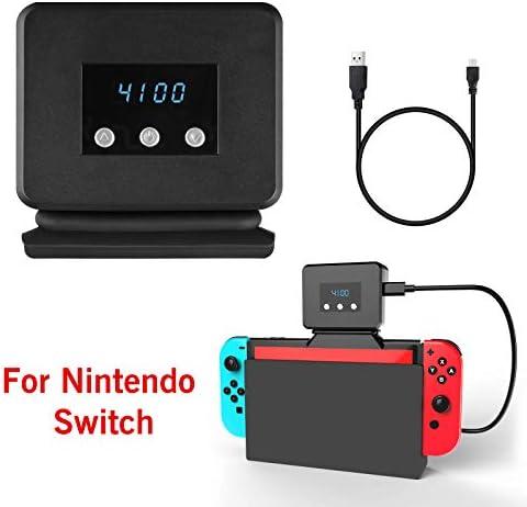 EEEKit Ventilador de Enfriamiento para Nintendo Switch Dock Set Temperatura Enfriador para la Estación de Acoplamiento Original NS, Alimentación por USB, Cable Integrado: Amazon.es: Electrónica
